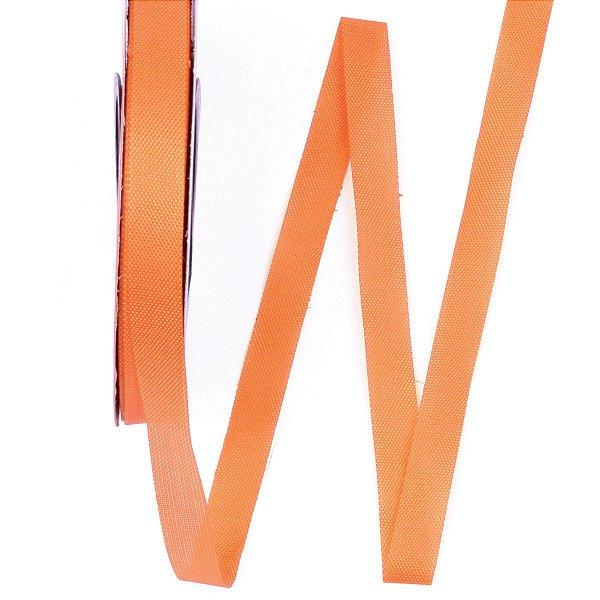 Fita de tafetá Fitex - 10mm c/50mts - laranja