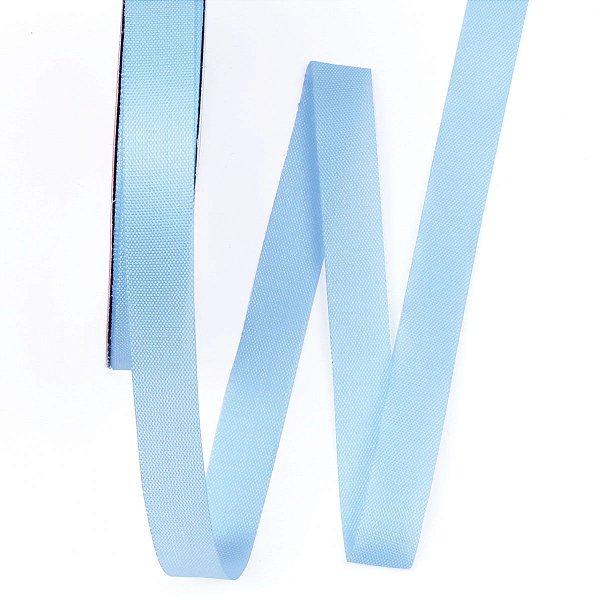 Fita de tafetá Fitex - 15mm c/50mts - azul celeste