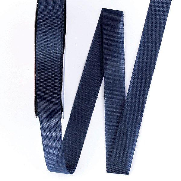 Fita de tafetá Fitex - 15mm c/50mts - azul marinho