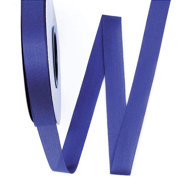 Fita de tafetá Fitex - 15mm c/50mts - azul royal
