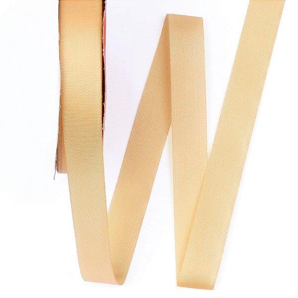 Fita de tafetá Fitex - 15mm c/50mts - dourado