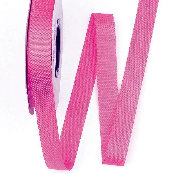 Fita de tafetá Fitex - 15mm c/50mts - rosa choque