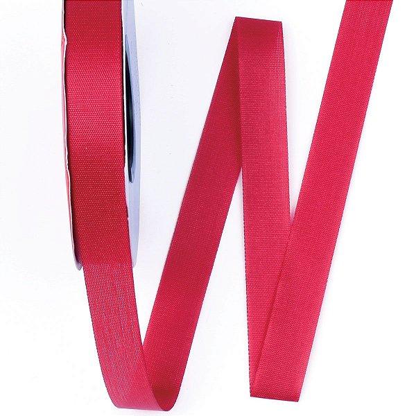 Fita de tafetá Fitex - 15mm c/50mts - vermelho