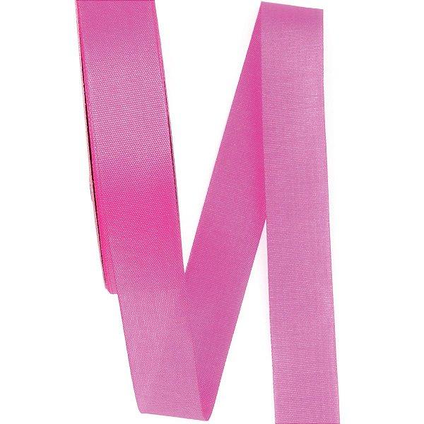 Fita de tafetá Fitex - 21mm c/50mts - pink