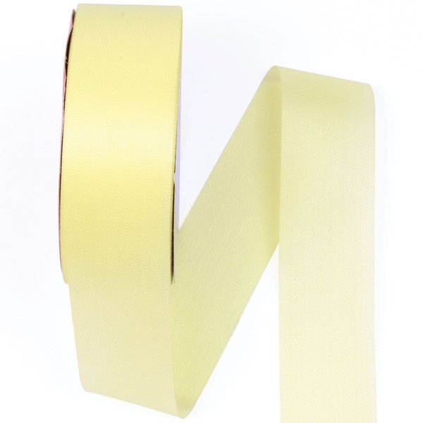 Fita de tafetá Fitex - 36mm c/50mts - amarelo bebê