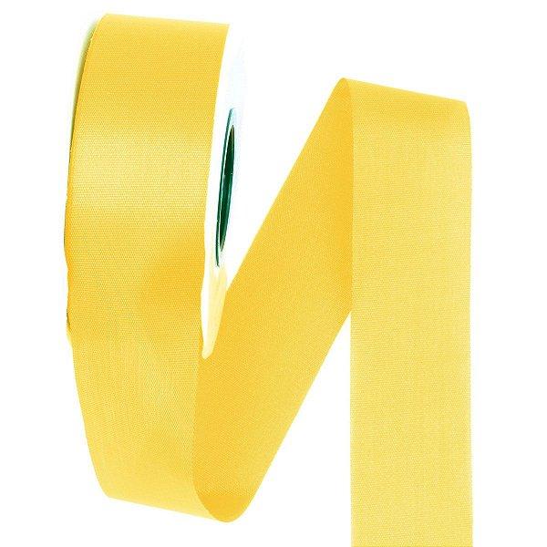 Fita de tafetá Fitex - 36mm c/50mts - amarelo ouro
