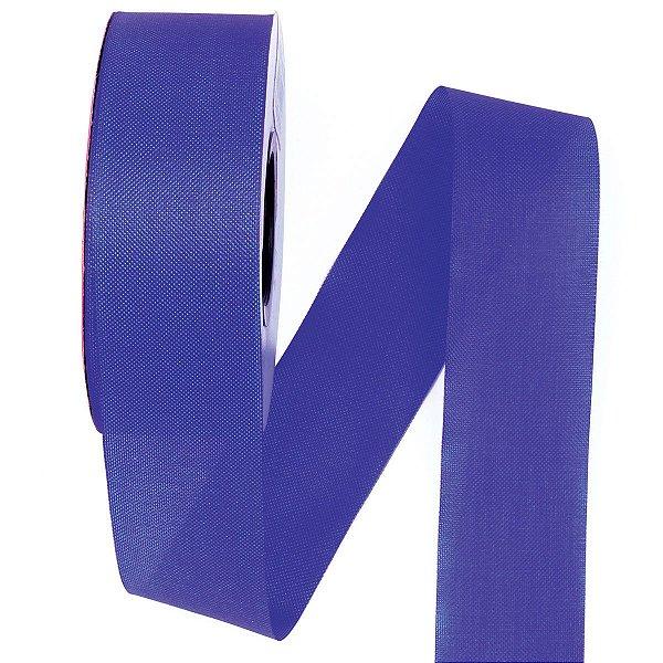 Fita de tafetá Fitex - 36mm c/50mts - azul royal