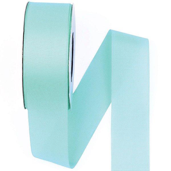 Fita de tafetá Fitex - 36mm c/50mts - verde água