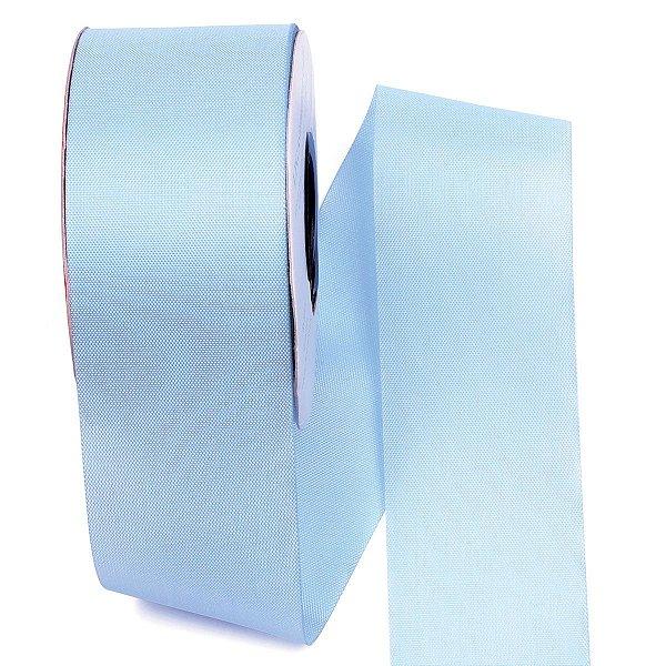 Fita de tafetá Fitex - 49mm c/50mts - azul celeste