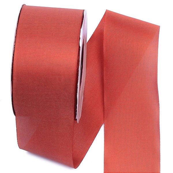 Fita de tafetá Fitex - 49mm c/50mts - ocre