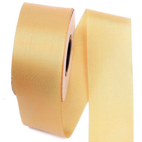 Fita de tafetá Fitex - 49mm c/50mts - ouro