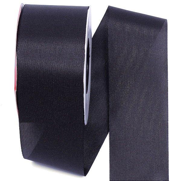 Fita de tafetá Fitex - 49mm c/50mts - preta