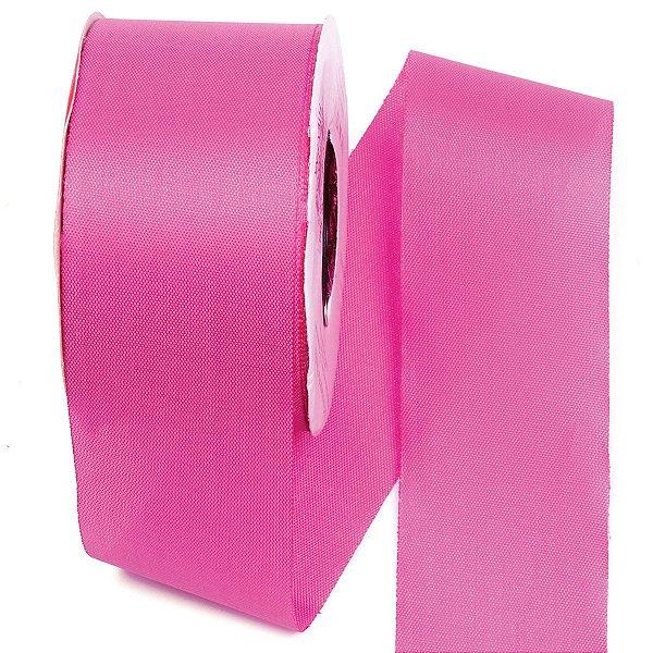 Fita de tafetá Fitex - 49mm c/50mts - rosa choque