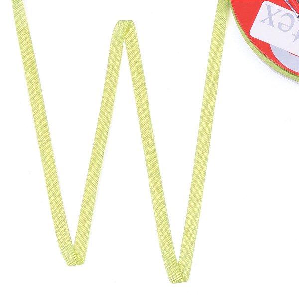 Fita de tafetá Fitex - 6mm c/50mts - verde limão