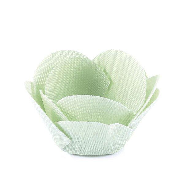 Forminhas para doces Alice - verde claro