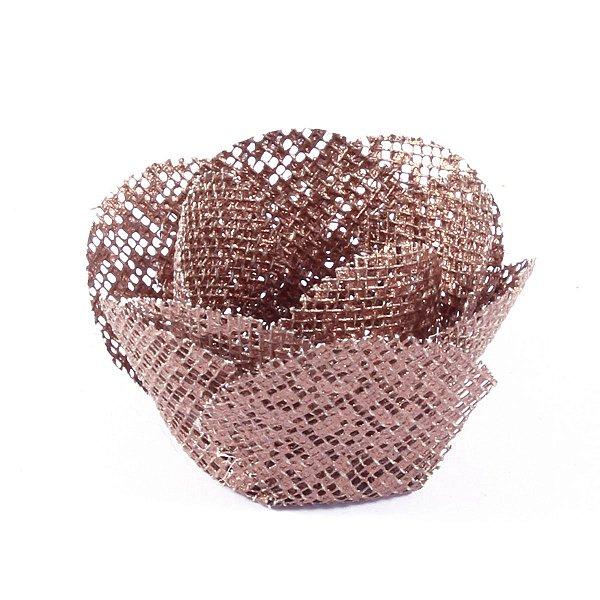 Forminhas para doces Alice Tela - bronze