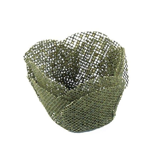 Forminhas para doces Alice tela - verde militar