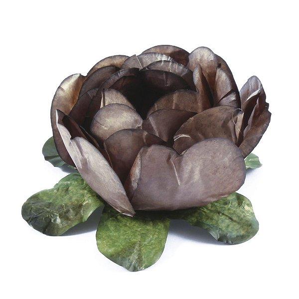 Forminhas para doces Bouganville Beauty - marrom claro