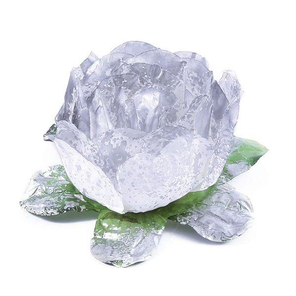 Forminhas para doces Bouganville Beauty - prata