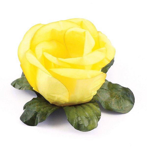Forminhas para doces Bouganville Rosa - amarelo