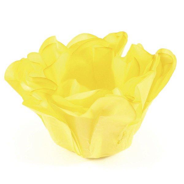 Forminhas para doces Buganville Belize - amarelo vivo
