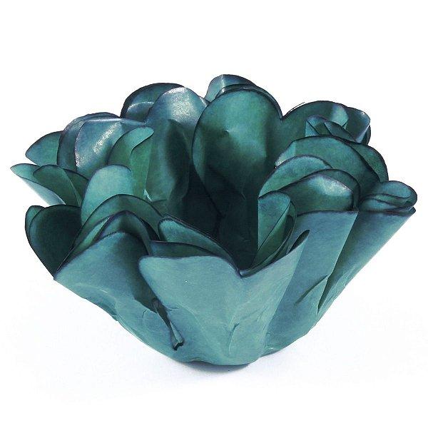 Forminhas para doces Buganville Belize - azul tifany