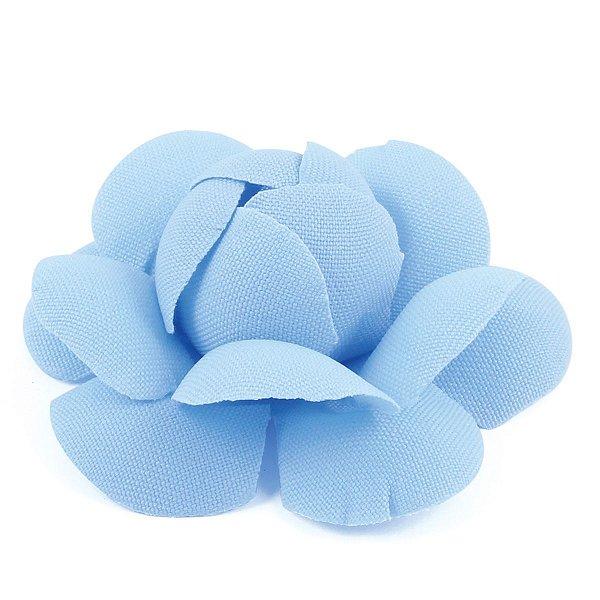 Forminhas para doces Camélia Chanel - azul claro