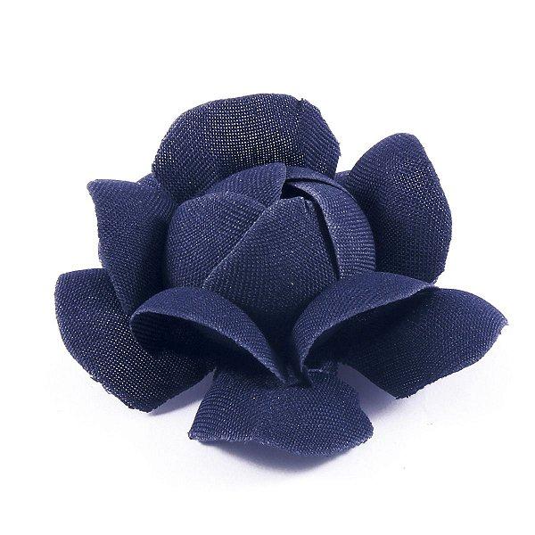 Forminhas para doces Camélia Chanel - azul marinho