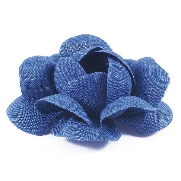 Forminhas para doces Camélia Chanel - azul médio