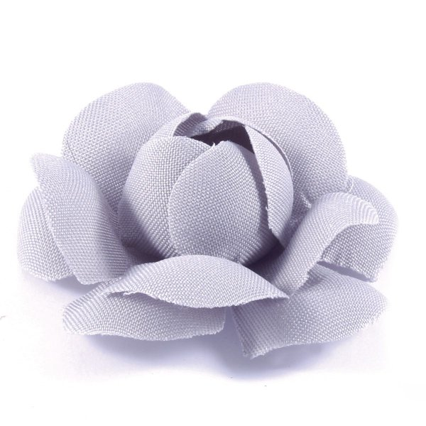 Forminhas para doces Camélia Chanel - cinza