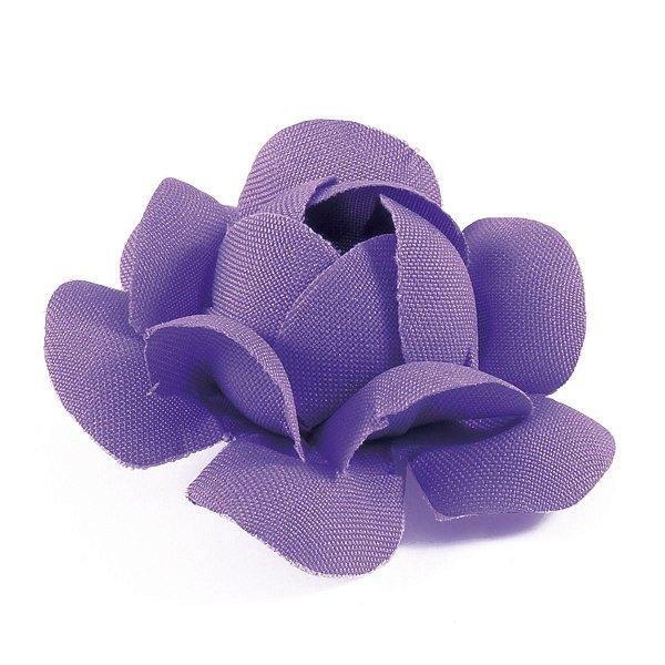 Forminhas para doces Camélia Chanel - lilás escuro