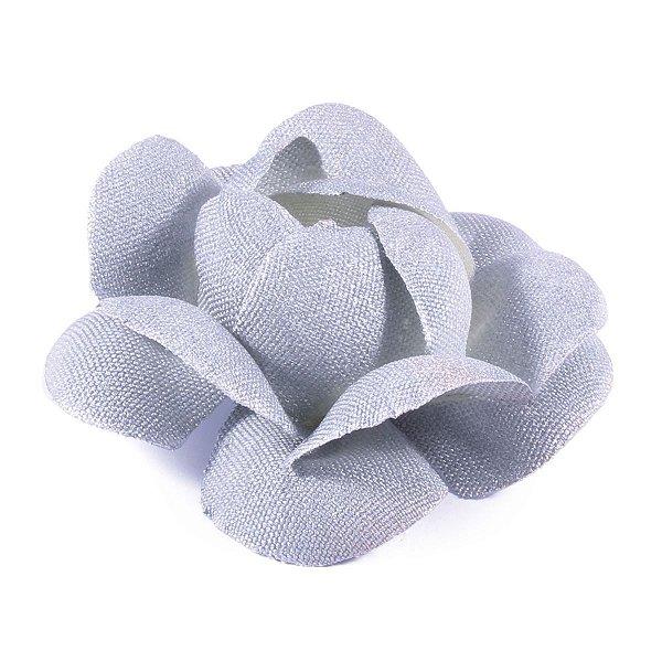 Forminhas para doces Camélia Chanel - prata