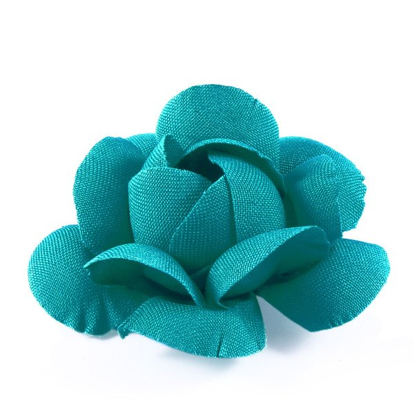 Forminhas para doces Camélia Chanel - verde piscina escuro