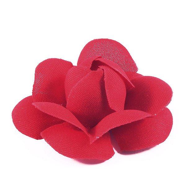 Forminhas para doces Camélia Chanel - vermelho