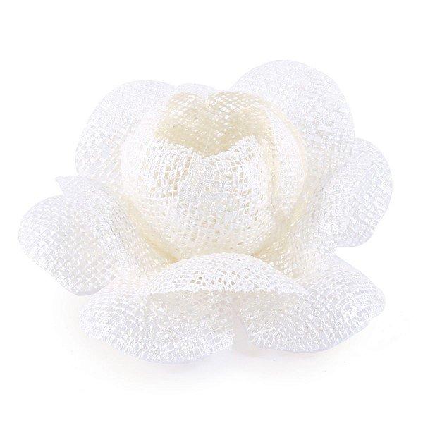Forminhas para doces Camélia Chanel Tela - pérola