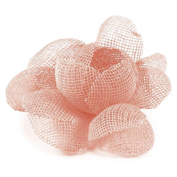 Forminhas para doces Camélia Chanel Tela - salmão