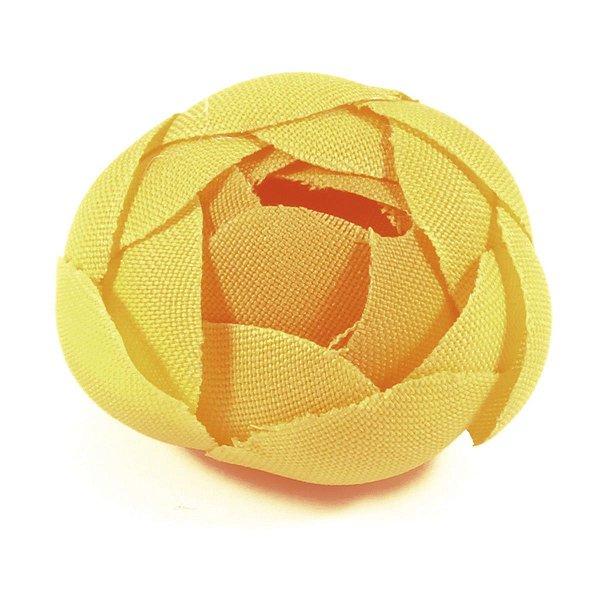 Forminhas para doces Camélia Fechada  - amarela