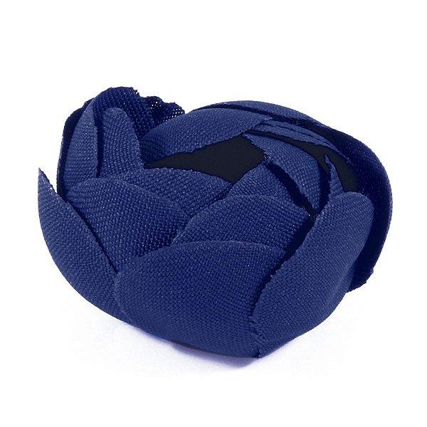 Forminhas para doces Camélia Fechada  - azul escuro