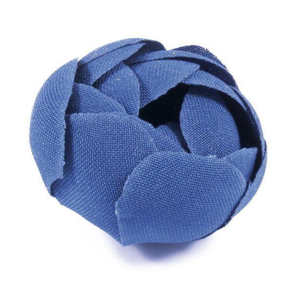 Forminhas para doces Camélia Fechada  - azul médio