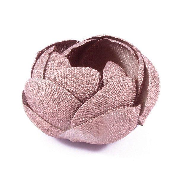 Forminhas para doces Camélia Fechada  - bronze