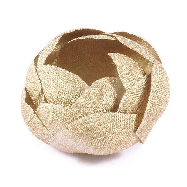Forminhas para doces Camélia Fechada  - dourada
