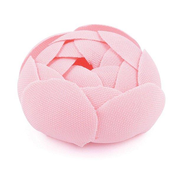 Forminhas para doces Camélia Fechada  - rosa claro