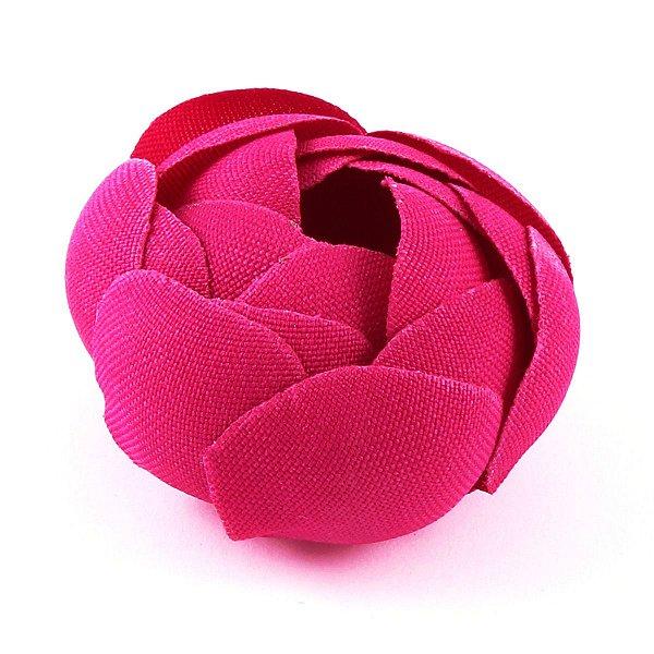 Forminhas para doces Camélia Fechada  - rosa escuro