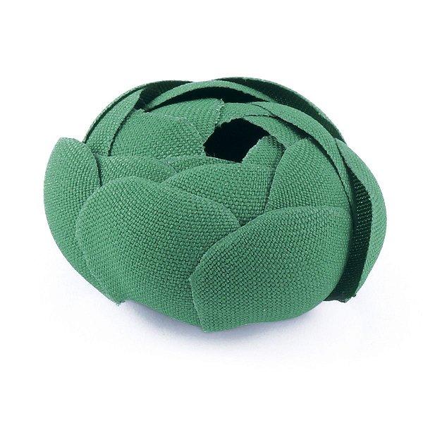 Forminhas para doces Camélia Fechada  - verde bandeira
