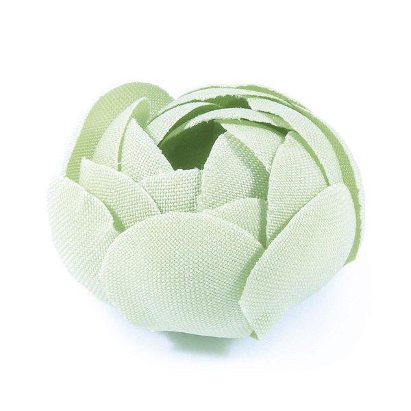 Forminhas para doces Camélia Fechada  - verde claro