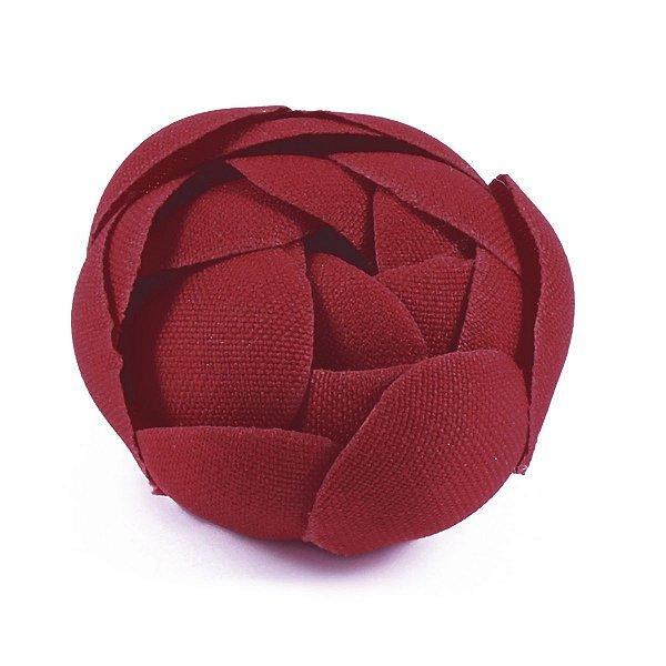Forminhas para doces Camélia Fechada  - vermelho escuro