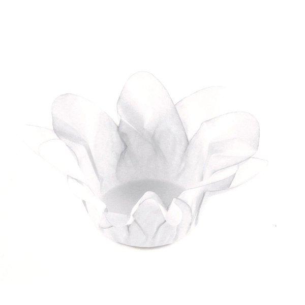 Forminhas para doces Lírio - branca