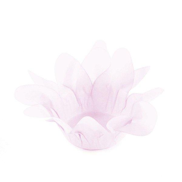 Forminhas para doces Lírio - rosa bebê