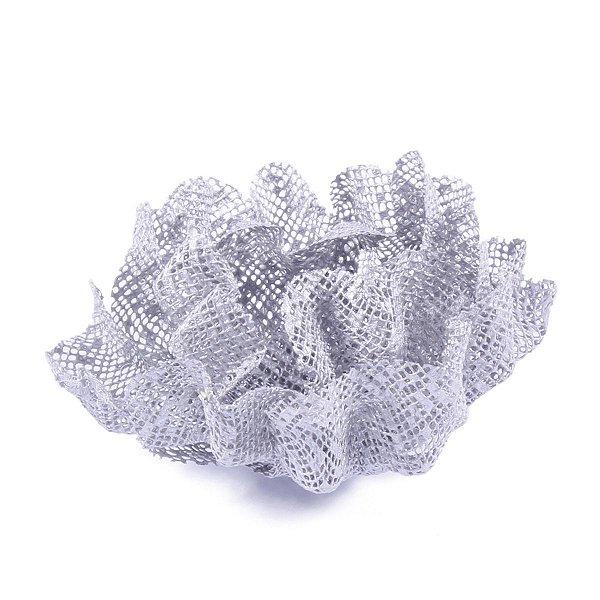 Forminhas para doces Luna Tela - prata