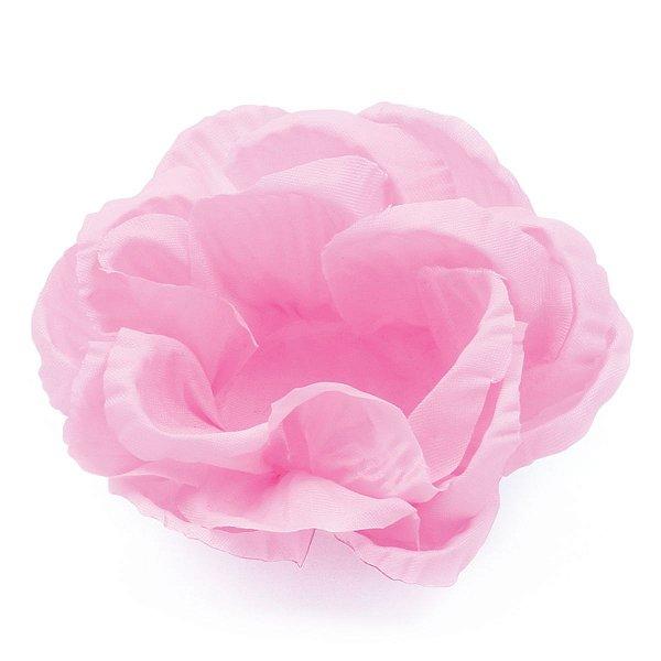 Forminhas para doces Rosa Grande frisada - rosa